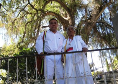 Aristeo Segura y Micaela Salvador,San Pablo Güila, Matatlan,Oaxaca,Mexico, fundada en 1307, semana Santa del 2007