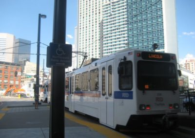 Public transportation, Denver 2008
