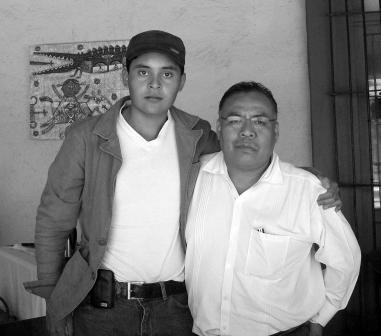 Oscar H. Ruiz Velasco and Aristeo Segura( My Student 040910)