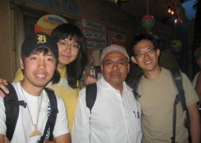 Aristeo Segura , Korean and Japanese students, Denver, 2008