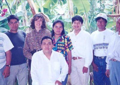 Reunión con productores de mezcal Matatlan, Oaxaca. Mex