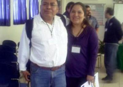 risteo Segura y Remedios Sanchez, Mi querida compañera de generacion Universitaria en la Facultad de Quimica de la UABJO , Tijuana TEC, 2009