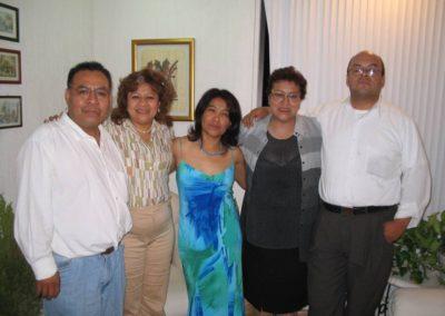 Reunión con profesores distinguidos de la división de Ciencias Sociales y Humanidades de la UAM- Iztapalapa.