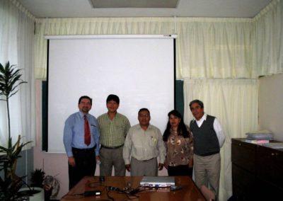 EXAMEN PREDOCTORAL Dr. Nikola Batina(UAM-I),Dr.Ramon Garduño(UNAM),Aristeo Segura, Dra. Dolores Silvia Solis (UAM-I),Dr. Antonio Campero(Profesor Distinguido UAM-I),Universidad Autónoma Metropolitana-Iztapalapa, México D.F. México, 070904
