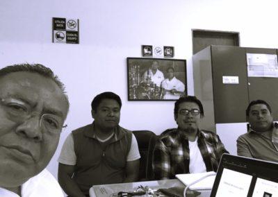 Reunion de Trabajo con el Dr. Carlos Lara del Instituto Tecnológico de Ciudad Madero , Tamaulipas, MX