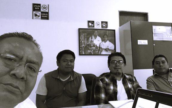Visita del Dr. Carlos Lara del Instituto Tecnológico de Ciudad Madero , Tamaulipas, MX