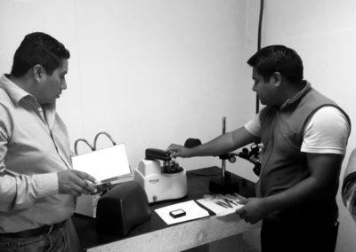 Capacitación Innova instrument (AFM&STM) Gabriel Sanchez y Antonio Canceco (2017)