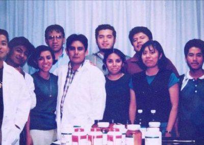 Primera generación de estudiantes de Q.F.B.