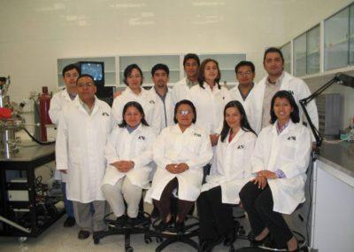 Compañeros del laboratorio de Nanotecnología e Ingeniería Molecular de la UAM- Iztapalapa,260304