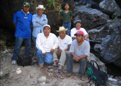Expedición en comunidades en busca de biomateriales