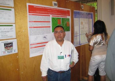 ARISTEO SEGURA AND NIKOLA BATINA ¨ Self-assembled Film of Cholesterol Molecules on the Au(111): An STM Study¨, NSF PASI on Sustainability & Green Chemistry, Mexico City , May 29 , 2007