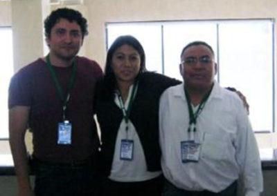 Bayardo Murillo,Mayra Lemus, Aristeo Segura, Nanomex09