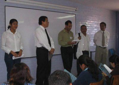 Aristeo Segura, Dialogo permanente con estudiantes de la facultad de Ciencias Químicas, UABJO.