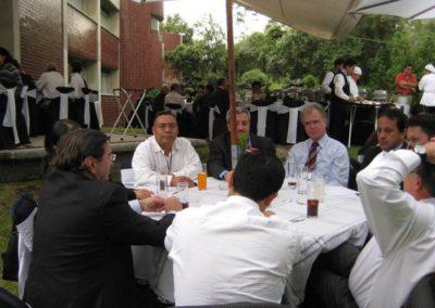 NANOFOROMEULA-Fact finding mission,UNAM,Mexico D.F. Mexico,30 de agosto,2007.
