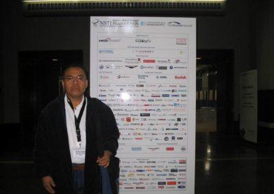 Aristeo Segura, NSTI-Nanotech 2006, Boston, MA,USA. l 7 de Mayo de 2006.